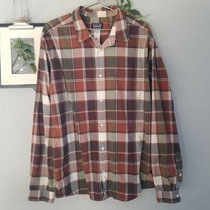 Patagonia Fezzman Long Sleeve Button Down Shirt XL
